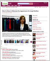 How to Dress to Minimize the Appearance of a Large Bustline