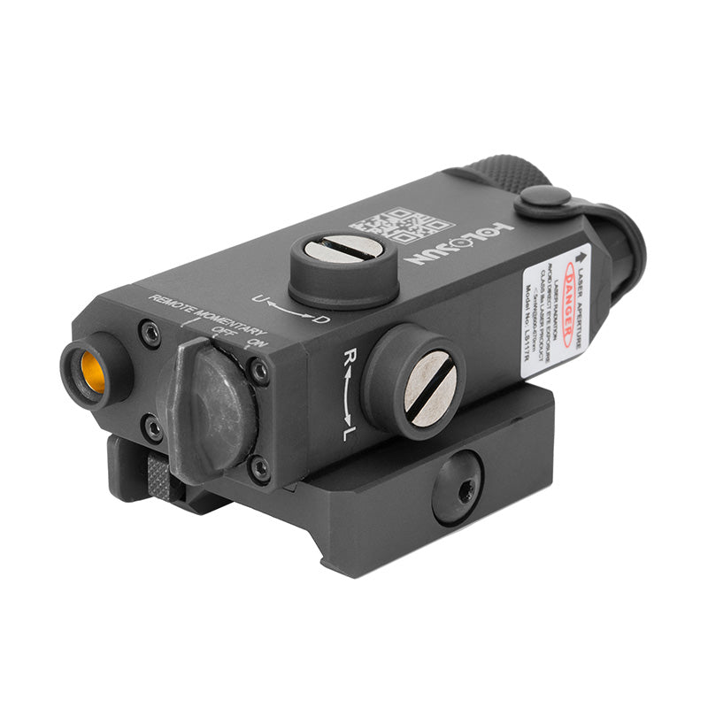 LS117R - Red Collimated Laser/QD mount