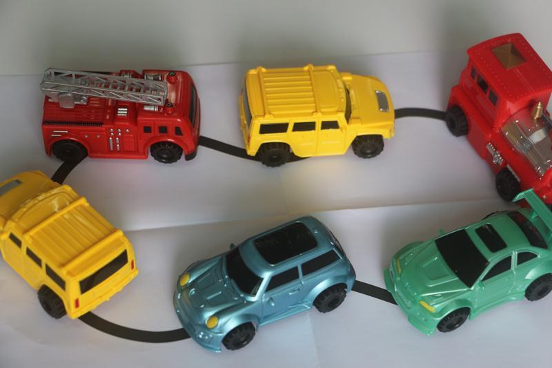 Your Toy Zoo Diecasts & Toy Vehicles Magic Inductive Car/Truck/Tank Or Excavator Toy