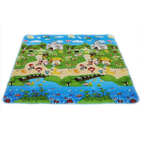Your Toy Zoo Play Mats 180CMX150CM Baby Play Mat with Animals and Cartoons