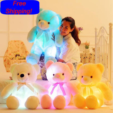 Your Toy Zoo Stuffed & Plush Animals 50cm LED Light Up Plush Teddy Bear