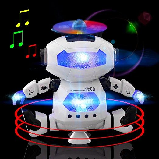 Electronic Walking Talking Dancing Robot