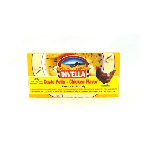 Divella stock cubes - Chicken