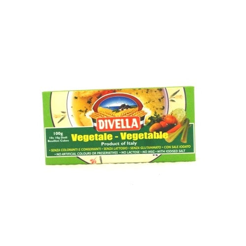 Divella stock cubes - Vegetable