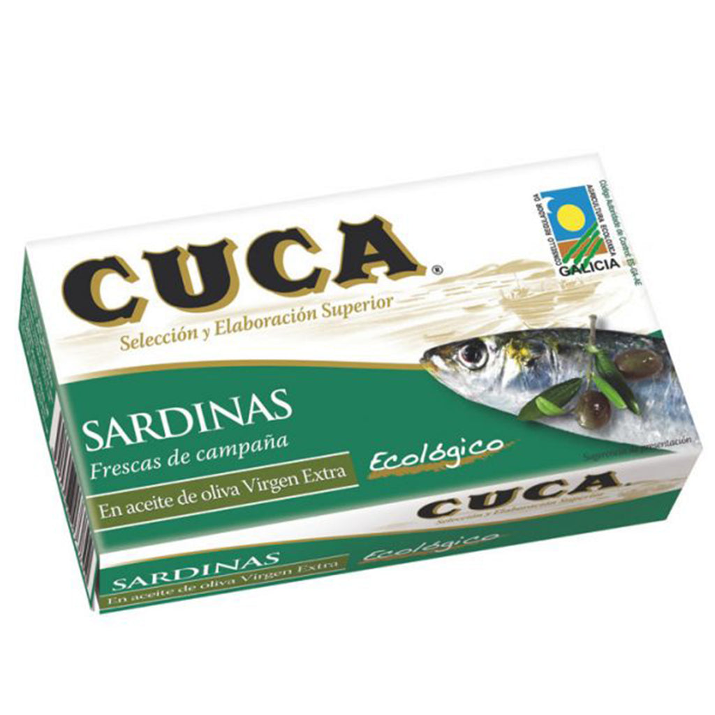 Cuca sardines in organic extra virgin olive oil