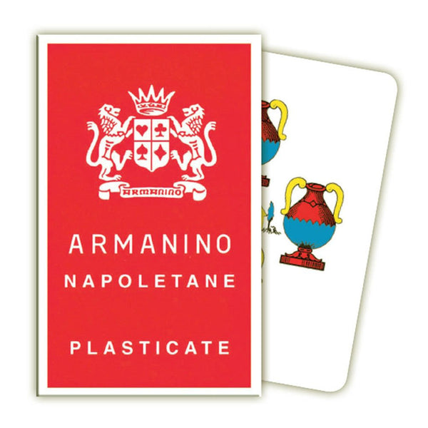 Armanino Italian Scopa Playing cards - Napoletane (Campania style)