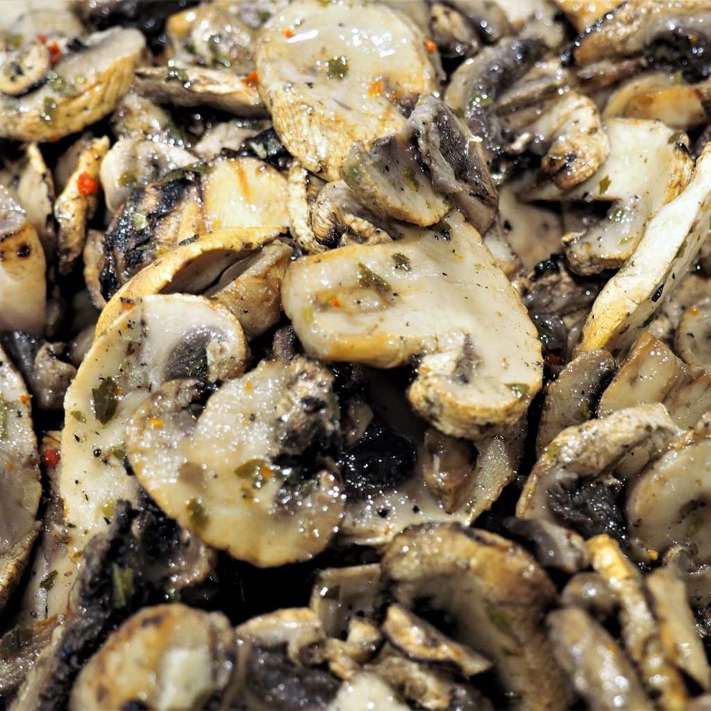 Grilled Sliced Mushrooms Tub