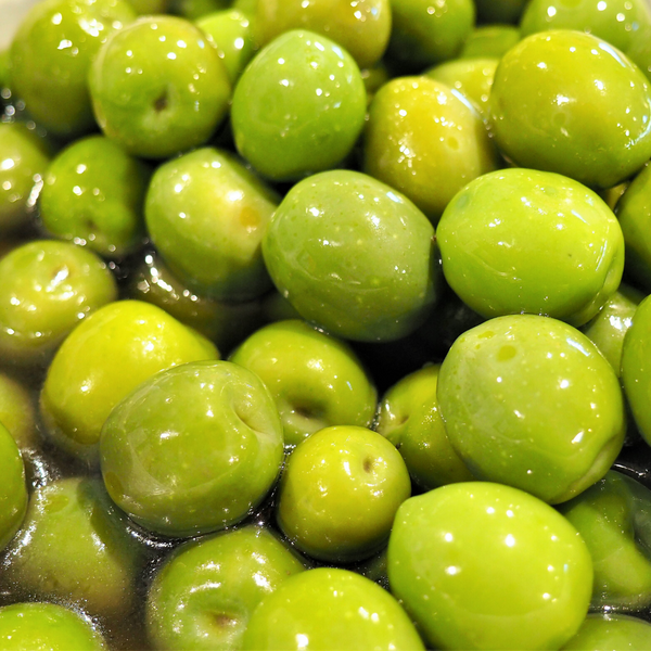 Green Sicilian Olives Tub
