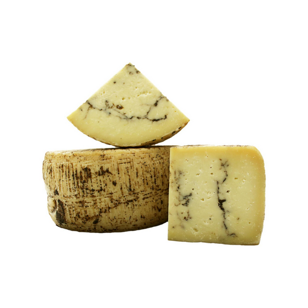 Pecorino with Black Truffle Block