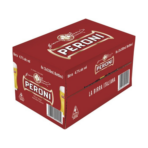 PERONI RED LAGER CARTON