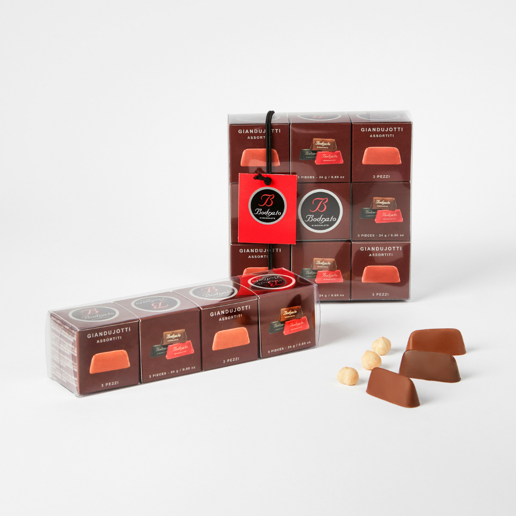 Bodrato - Giandujotti assorted flavours
