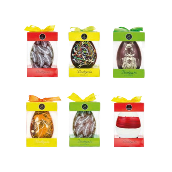 Bodrato Assorted Design Chocolate Egg 130g