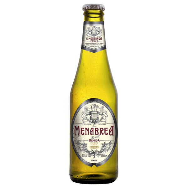 Menabrea Bionda Birra Bottle 330mL