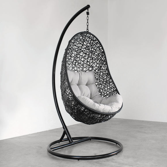 Hanging Egg Chair - Black
