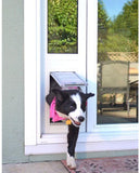 Patio Pacific 01ppc06-rw Thermo Panel 3e - Small with Endura Flap - 93.25-96.25, white frame - DogDoorMart