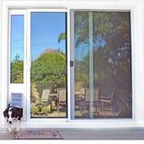 Patio Pacific 01ppc08s-pw Quick Panel 3 - Medium with Endura Flap - 74.75-77.75, white - DogDoorMart