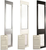 Patio Pacific 01ppc10s-qw Quick Panel 3 - Large with Endura Flap - 77.25-80.25, white frame - DogDoorMart