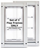 Patio Pacific 03ppk08 Endura Flap 2eMedium Kennel Door - white frame, single flap, case of 2 - Peazz.com - 1