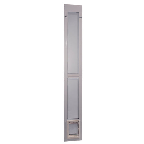 Ideal Modular Pet Patio Door White - Small (MODPATSW) - DogDoorMart