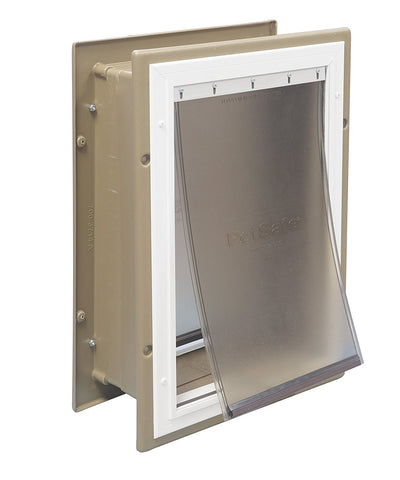 PetSafe PPA11-10917 Wall Entry Aluminum Dog Door (Large) - DogDoorMart