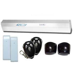 Autoslide AS011/UBW Ultimate Bundle WHITE - DogDoorMart