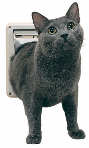 PetSafe Deluxe Locking Cat Flap (P1-4W-11) - DogDoorMart
