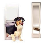 PetSafe Freedom Pet Panel Large White Dog Door (PPA11-13129) - DogDoorMart