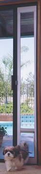 Ideal 75  Shorty Fast Fit Pet Patio Door Small - White Fi...