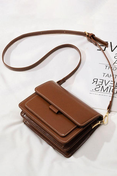 Structured Flap Bag