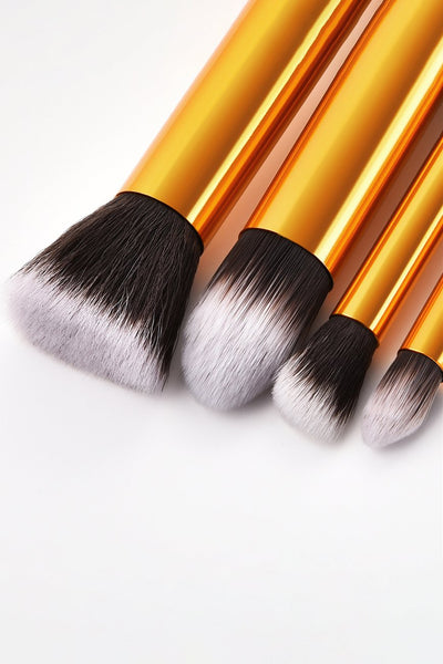 10 Piece Kabuki Make up Brush Set