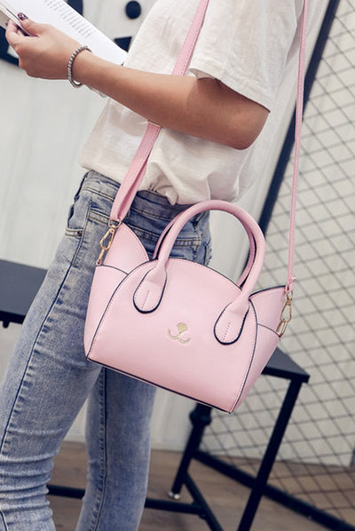 Cute Cat Cross Body Shoulder Bag