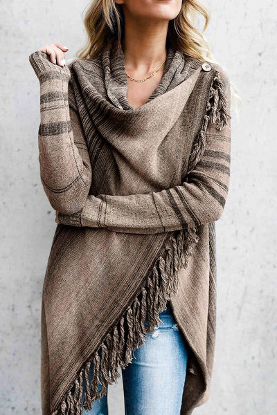 Fringe Shawl Jacket