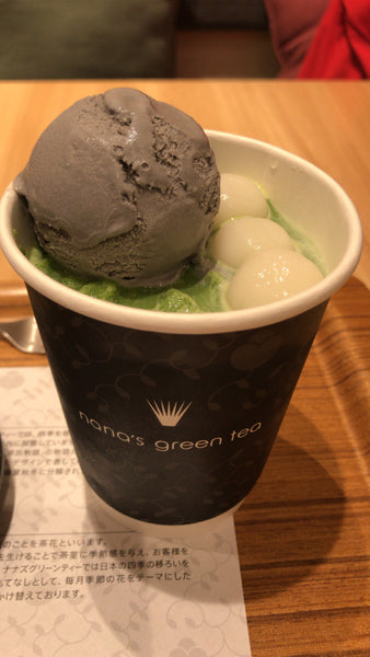 Nanas Green Tea Matcha Latte Frappe