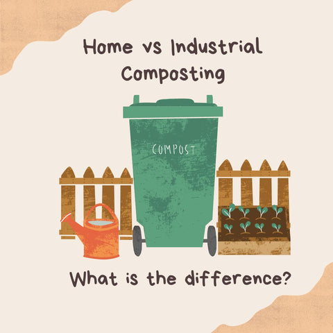 Home vs Industrial Compostable