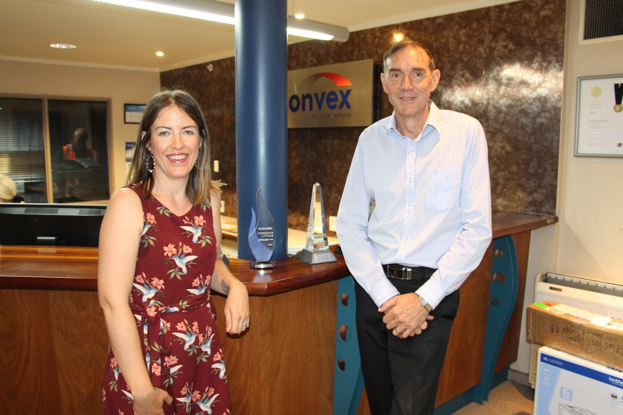 Erin with Owen from Econic