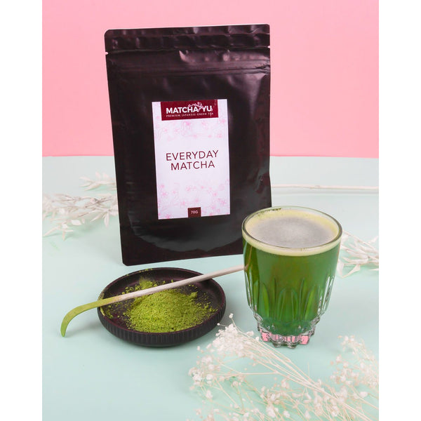 2 x EVERYDAY Certified Organic Matcha Green Tea Powder (70g) - Save $10 Matcha Matcha Yu