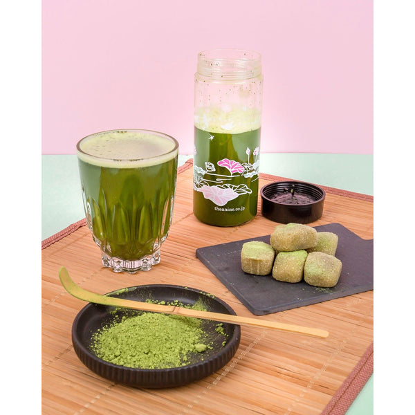 EVERYDAY Certified Organic Matcha (30g) Tea Shaker Set - save $5 Tea Shaker Set Matcha Yu