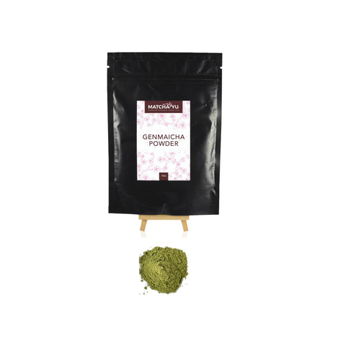 GENMAICHA Roasted Rice Green Tea Powder (70g) Genmaicha Matcha Yu