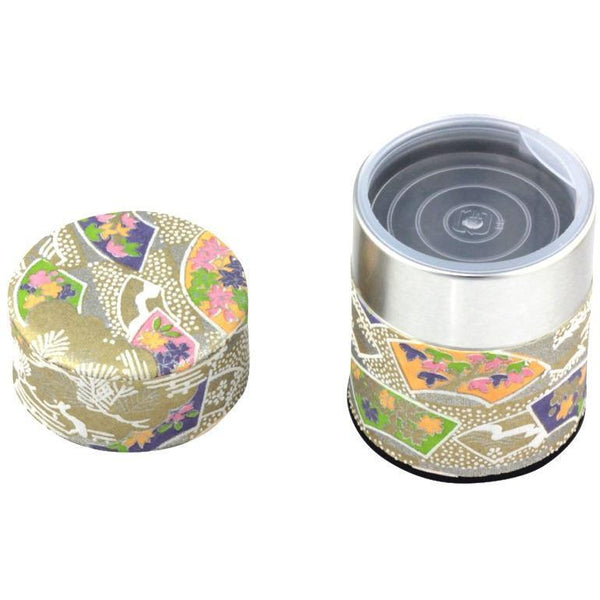 Gold Tea Canister (Small) Accessories Matcha Yu