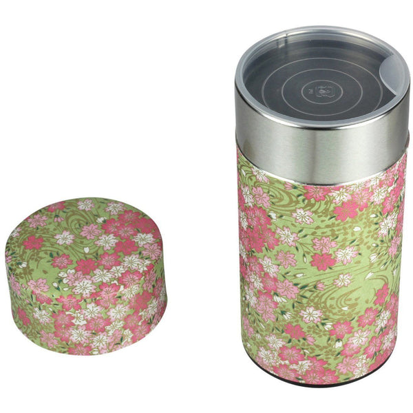Green Tea Canister (Large) Accessories Matcha Yu