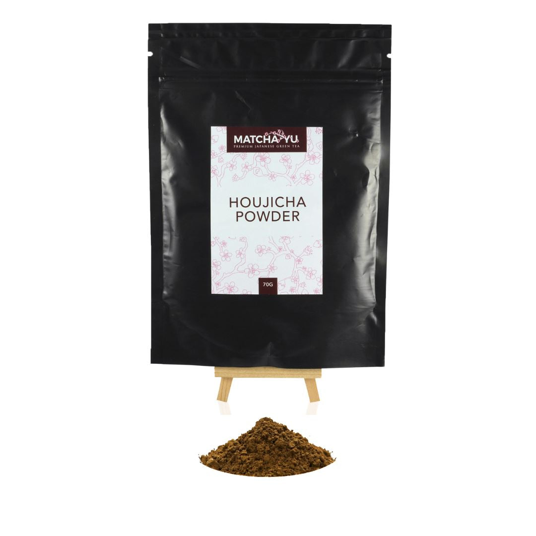 HOUJICHA Roasted Green Tea Powder (70g) Houjicha Matcha Yu
