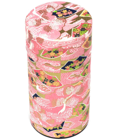 Pink Tea Canister (Large) Accessories Matcha Yu