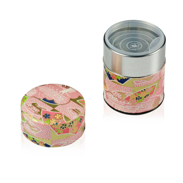 Pink Tea Canister (Small) Accessories Matcha Yu