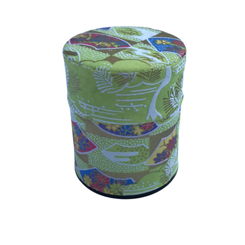 SENSU Green Washi Paper Japanese Tea Canister (Small) Accessories Matcha Yu