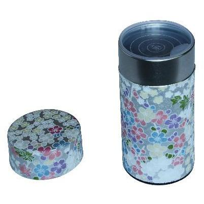 Silver Tea Canister (Large) Accessories Matcha Yu