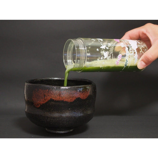 Tea Shaker Accessories Matcha Yu Floral