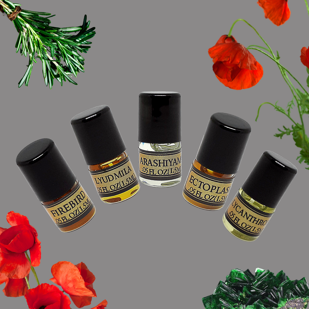 Perfume Oil Sample Pack - Choose 5