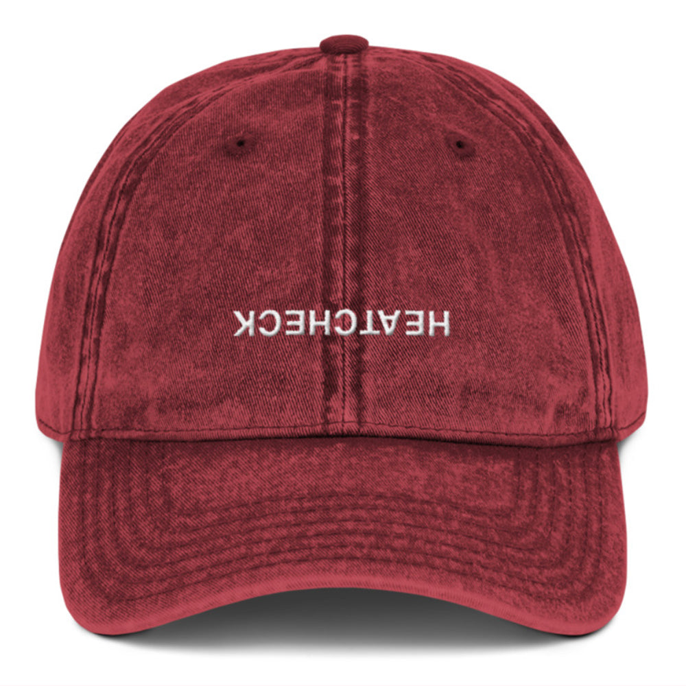 HC POV Dad Hat (Oxblood)