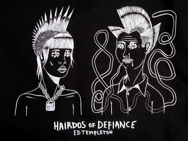 Combo Deal - Ed Templeton - Hairdos of Defiance & Totebag