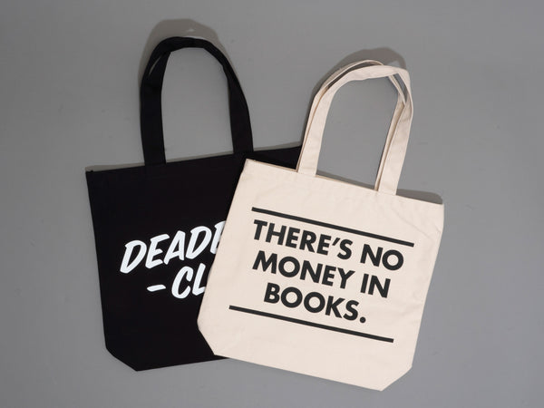 Deadbeat Club Tote Bag w/ Pocket - ASIA